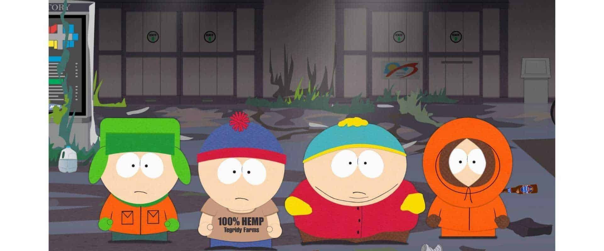 South Park is the best example of cut-out animation