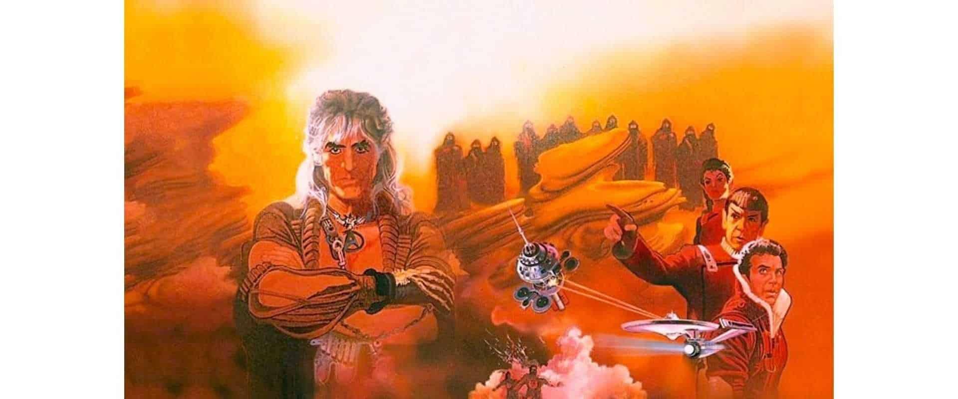 "Film ""Star Trek II: The Wrath of Khan"" - example Particle Emitter"