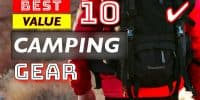 10 Best Value Outdoor Camping Gear/Gadgets