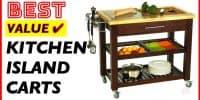 10 Best Kitchen Island Carts on Wheels