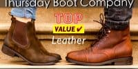 Top Value Leather Boots from Thursday Boot Company