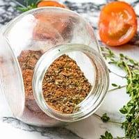 seasoning in a jar