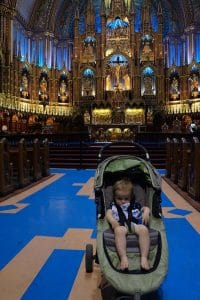 eastern canada road trip, montreal with baby