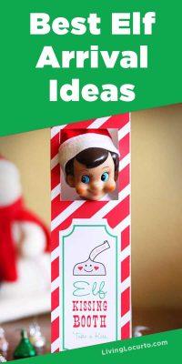 Elf on the Shelf Arrival Ideas Printables