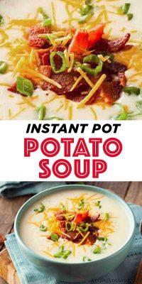Easy Instant Pot Potato Soup