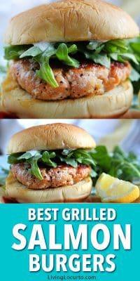 Easy Salmon Burger Recipe