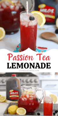 Passion Tea Lemonade Drink Recipe