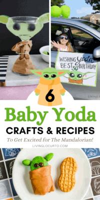 Baby Yoda Crafts and Recipes - The Mandalorian Disney Party Ideas
