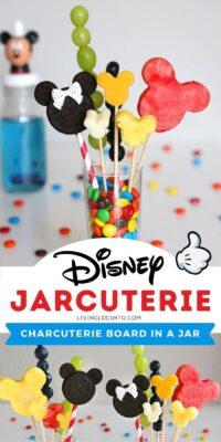 Disney Jarcuterie Mickey Mouse Charcuterie in Jar
