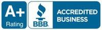 A+ Better Business Bureau Rating BBB
