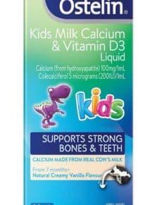 Thuốc bổ sung canxi và vitamin D3 Ostelin dạng lỏng 90ml