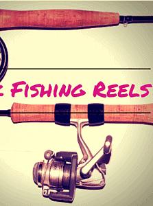 Pink Fishing Reel
