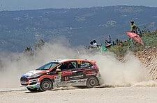 Mats van den Brand - Ford Fiesta R2 - WRC Portugal 2015