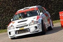 Piet van Hoof & Bram Coppens - Mitsubishi Lancer Evo IV - Short Rally Kasterlee 2017