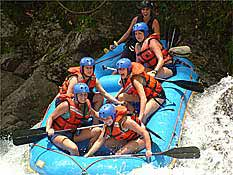 Pacuare Overnight River Rafting Trip