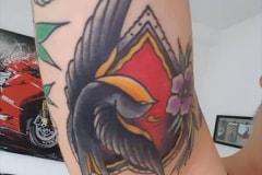Old-School-Tattoo-Schwalbe