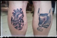 Old-School-Tattoo-Wade-Bulle-Stier