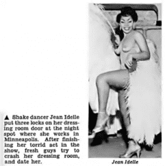Photo of Jean Idelle from Jet Magazine