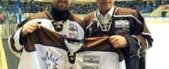 Matthias und Dieter Frenzel bei den Dresdner Eislöwen - Hockey is Diversity