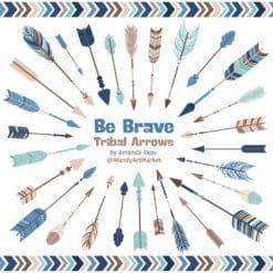 Oceana Tribal Arrows Clipart