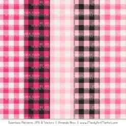 Hot Pink Cozy Plaid Patterns
