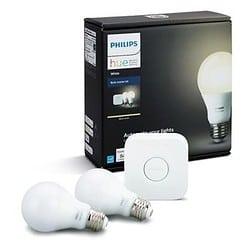 Philips Hue A19 Starter Kit Best Smart Light Bulbs