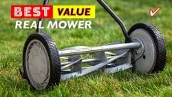 Best  Push Real Lawn Mowers