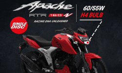 TVS Apache RTR 160 4V Available in New Variant: Now More Affordable!