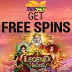 Wild Joker Casino free spins banner
