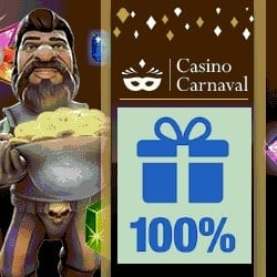 Casino Carnaval | $600 welcome bonus + free spins on video slots | Review