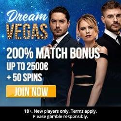 Is Dream Vegas Casino legit? Get €7000 bonus + 120 free spins!
