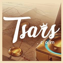 Tsars Casino free bonus banner