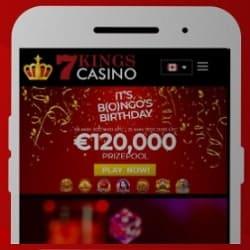 7Kings Casino mobile banner