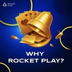 RocketPlay Casino FAQ banner
