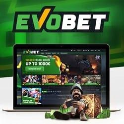 Evobet Casino & Sports - €1000 free bonus on every deposit