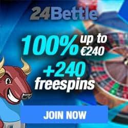 24Bettle Casino online & mobile: 100 free spins + 100% bonus