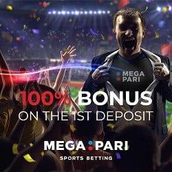 Mega Pari welcome bonus
