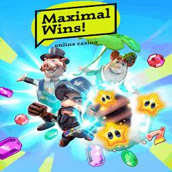 Maximal Wins Casino banner 250x250