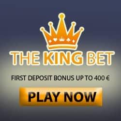 TheKingBet Casino | 100% up to €400 free cash + 165 free spin bonus