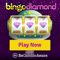 Bingo Diamond Casino   160 free spins (10 FS ndb) plus 200% free bonus