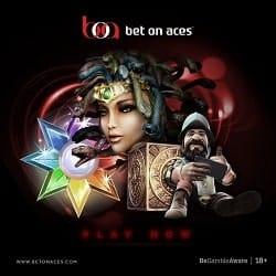 Bet On Aces Casino [review] €350 free bonus on deposit - UK licensed
