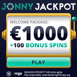 JJ Casino Banner - welcome bonus