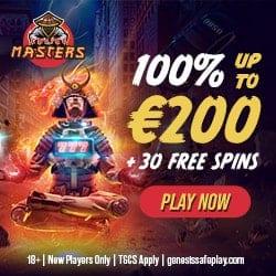 Claim 200 EUR bonus and 30 gratis free spins!