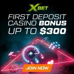 XBet Casino banner