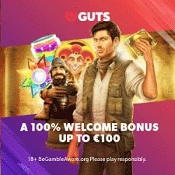 Register and Log In To Play at Guts!