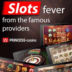 Princess Casino   90 free spins and €300 free bonus   Play now!