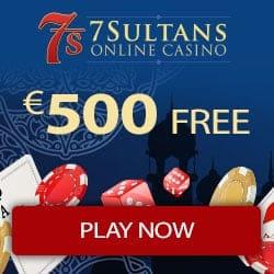 100% bonus up to €/$500 plus 100 extra free spins