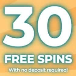 Exclusive 30 Free Spins No Deposit Bonus
