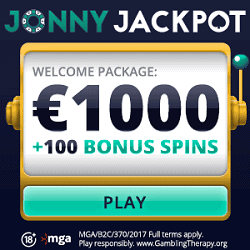 100 or 500 free spins and 1000€ bonus