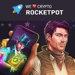 Rocketpot Casino bonus banner
